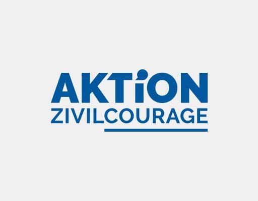 Das Logo von 'Aktion Zivilcourage'