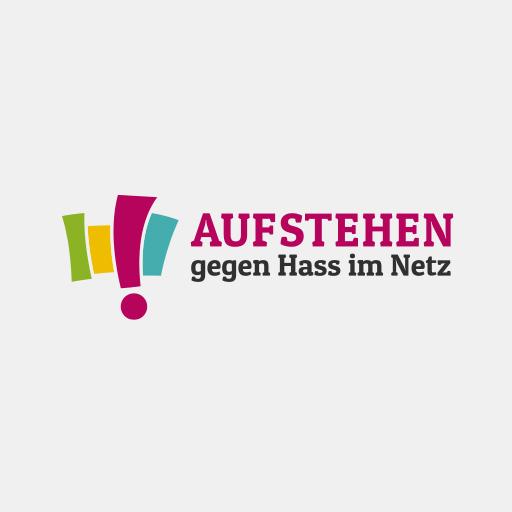 Das Logo von 'Aufstehen gegen Hass im Netz'