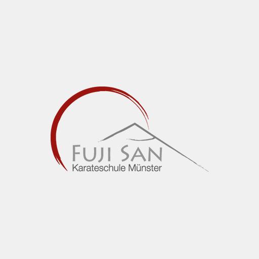 Das Logo von 'Fuji San – Karateschule Münster'