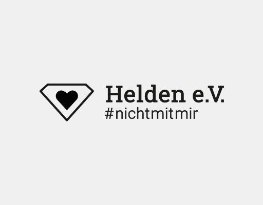 Das Logo von 'Helden e.V.'