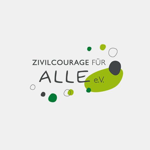 Das Logo von 'Zivilcourage für alle'