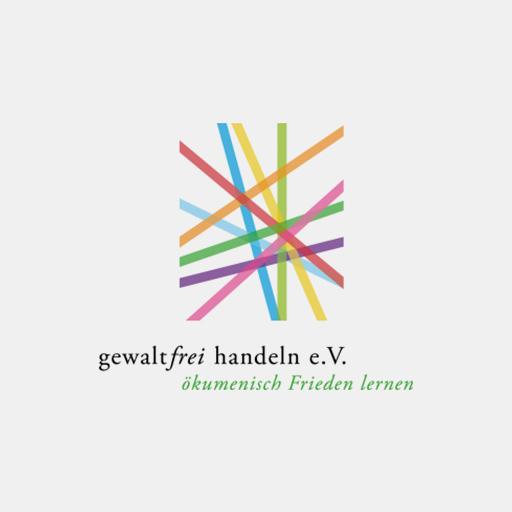 Das Logo von 'Gewaltfrei handeln'