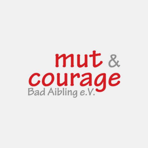 Das Logo von 'Mut und Courage'