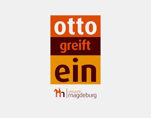 Das Logo von 'Otto greift ein'